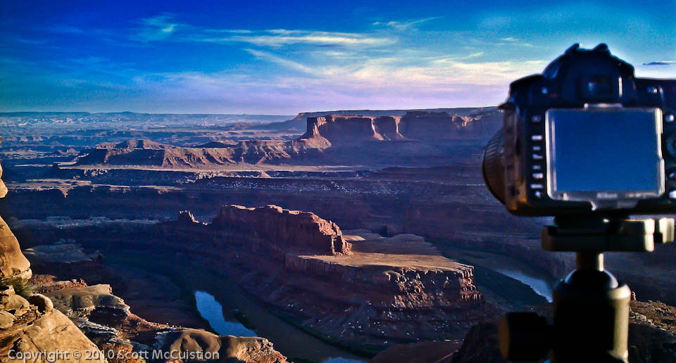 Dead Horse Point at Sunset