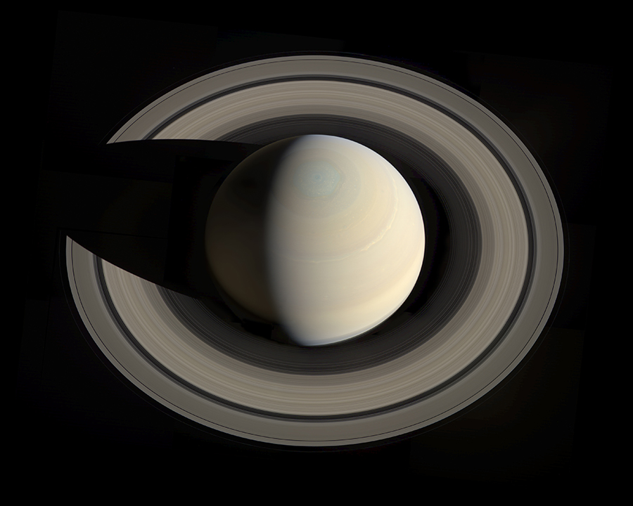 Saturn from Casinni